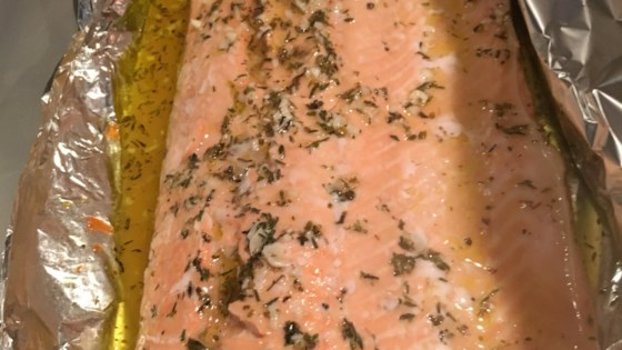 Photo of Baked Salmon in Foil  by barbara
