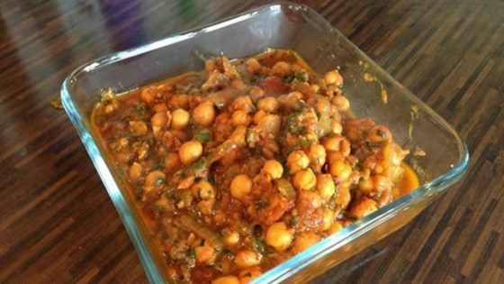 Vegan Chickpea Curry without Coconut Milk