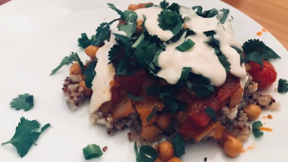 Photo of Moroccan Chickpea Stew with Quinoa by kyradornish