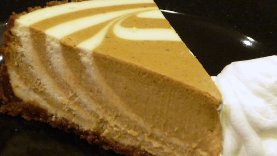 Photo of PHILADELPHIA Pumpkin Swirl Cheesecake by Philadelphia Cream Cheese