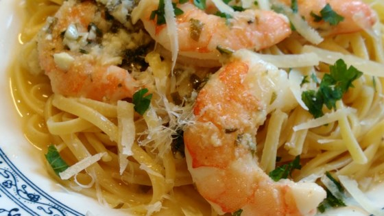 Photo of Garlic Shrimp Scampi Bake  by harleygirl58