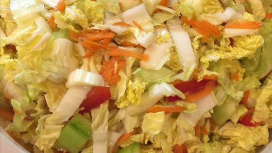 Photo of Refreshing Napa Cabbage Salad by Aureliee