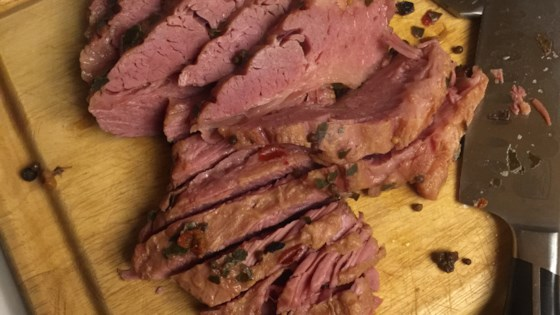 Photo of Pressure Cooker Corned Beef Brisket by Christina