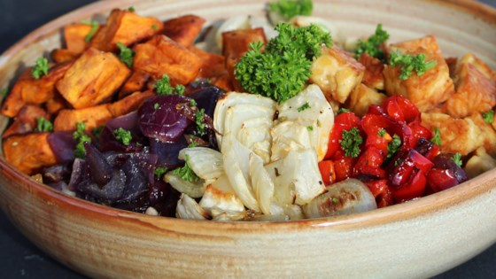 Photo of Roasted Veggie Buddha Bowl by France C