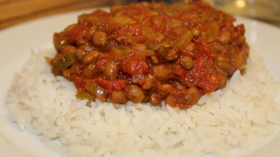 Photo of Vegan Green Lentil Curry  by missjazzcullen