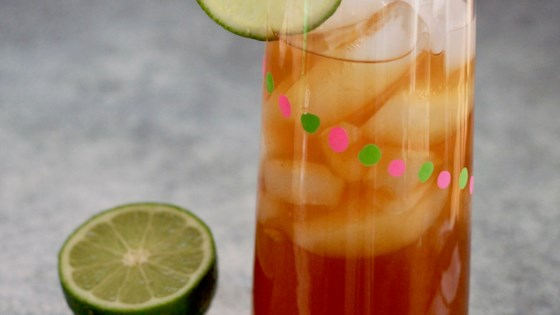 Photo of Sweet Lime Iced Tea by CookinginFL