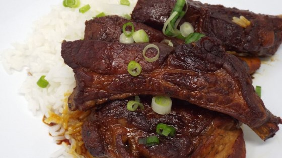 Photo of Japanese-Style Braised Pork Ribs by YepRecipes