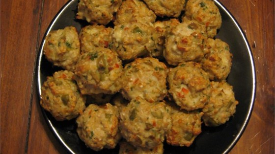 Photo of Feta and Olive Meatballs by Andrea