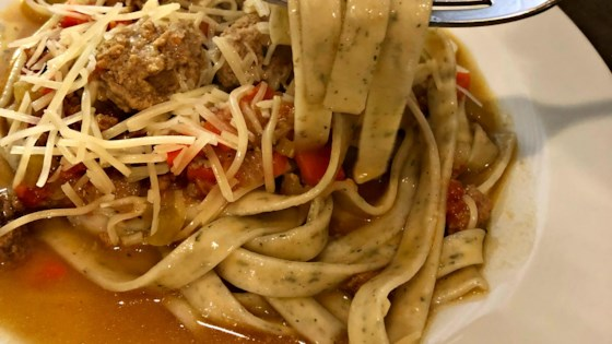 Photo of Hearty Fettuccini Bolognese Sauce by Steve