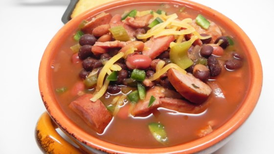 Photo of Sausage and Ham Steak Chili by MATTOON250