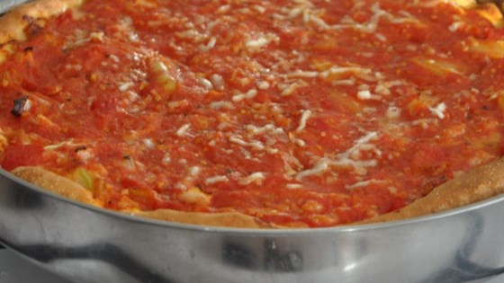 Chicago Style Stuffed Pizza Recipe
