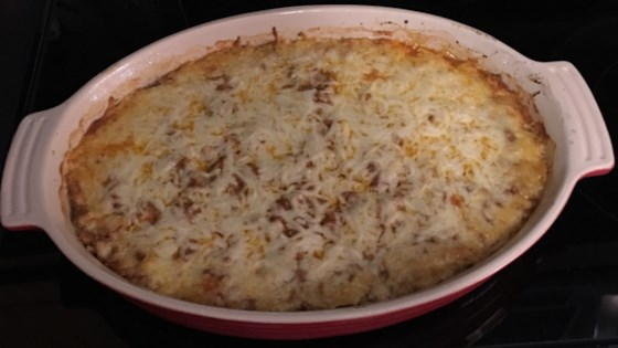 Photo of Spinach, Sausage and Cheese Bake by HACKERHEINLEIN