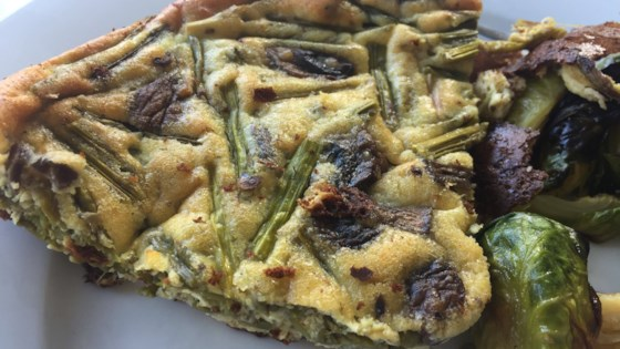 Photo of Italian Asparagus and Mushroom Frittata by miche