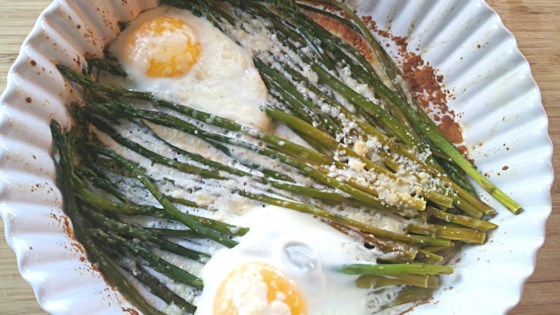 Photo of Baked Eggs and Asparagus by MariaGiovene