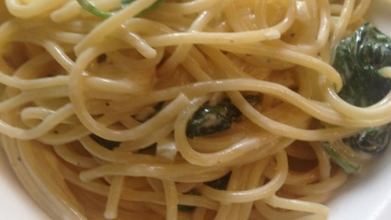 Photo of Creamy Gorgonzola Spinach Pasta by gartenfee