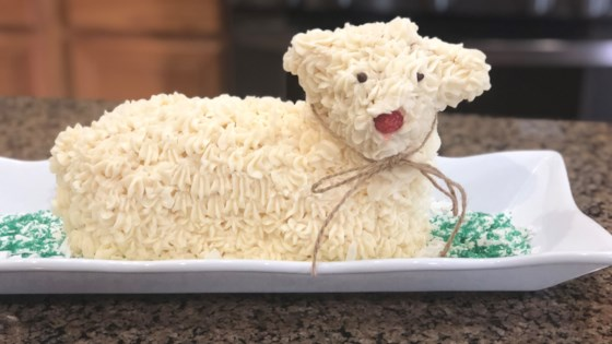 Photo of Easter Lamb Cake II by Patricia Taylor