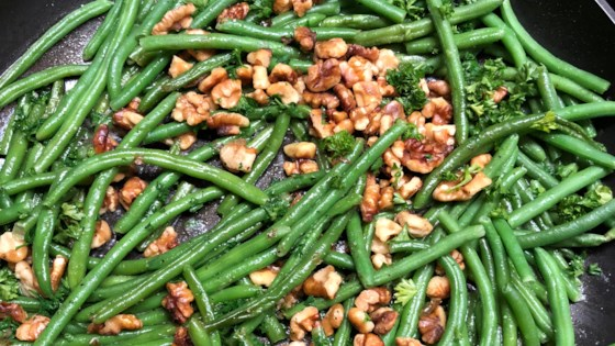 Photo of Green Beans With Walnuts by Tina