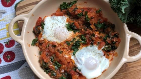 Instant Pot® Paleo and Keto Egg Shakshuka with Kale