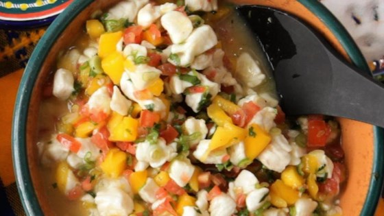 Photo of Mexican Mango and White Fish Ceviche by gema