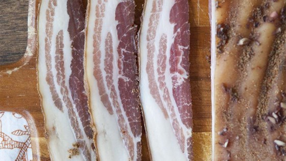 Photo of Home-Cured Pancetta by brandon