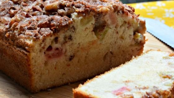 Photo of Rhubarb Cinnamon-Nut Bread by Betty Soup