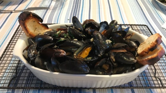 Wicked Good Mussels Recipe
