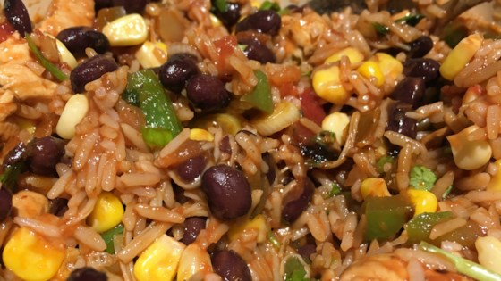 Photo of Mexican Chicken and Rice Salad by Heather Finn-Brady