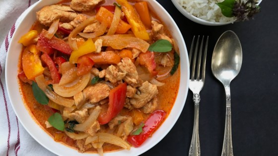 Instant Pot® Red Thai Curry Chicken Recipe