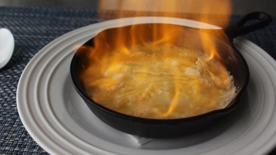 Flaming Greek Cheese (Saganaki) Recipe