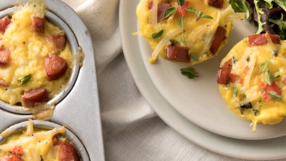 Photo of Mini Frittatas with Hillshire Farm® Smoked Sausage and Potato by Hillshire Farm® Brand