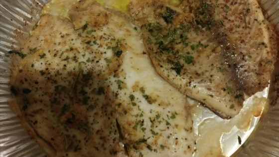 Photo of Herb Crusted Tilapia with Garlic Butter by ChefMom