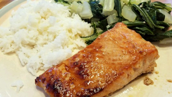 Photo of Teriyaki Salmon by Katzmeow