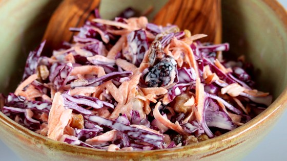 Photo of Red Cabbage Slaw by AuntE