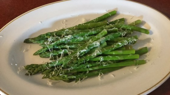 Photo of Broiled Asparagus with Goat Cheese by nt_bella