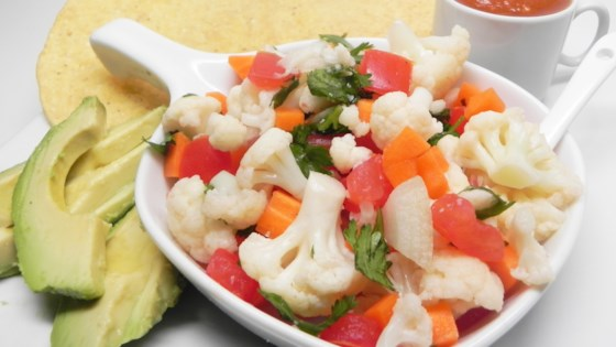 Photo of Easy Cauliflower Ceviche by Lourdes Gutierrez