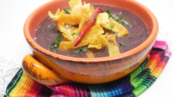Photo of Mexican Bean and Tortilla Soup (Sopa Tarasca) by Ainé