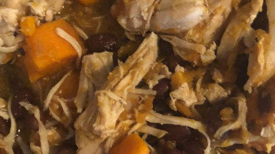 Photo of Chicken, Sweet Potato, and Mushroom Stew by ZOYA13