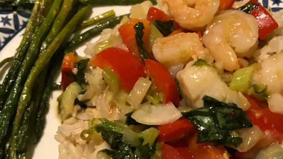 Photo of Clover's Shrimp and Basil by CLOVER DAVY