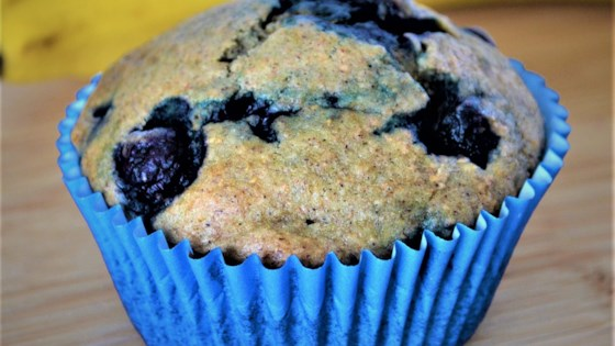 Photo of Lactose-Free Banana and Blueberry Muffins by chorazy