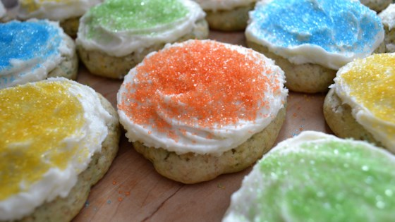 Soft Birthday Cake Cookies