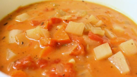Photo of Chunky Tomato Potato Soup by Kitchen Kitty