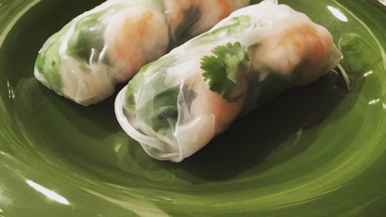 Photo of Thai Basil Rolls with Hoisin-Peanut Sauce by ALONGENECKER