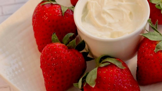 Photo of Marshmallow Dip for Strawberries  by GEMGEM11
