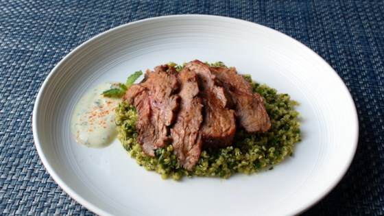 Photo of Grilled Pastrami-Spiced Lamb Top Sirloin by Chef John