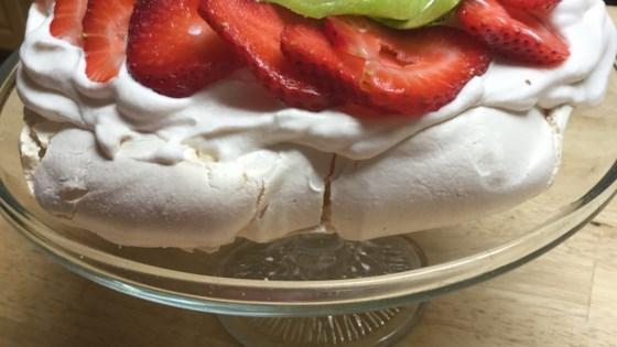 Photo of Chef John's Pavlova with Strawberries by Chef John
