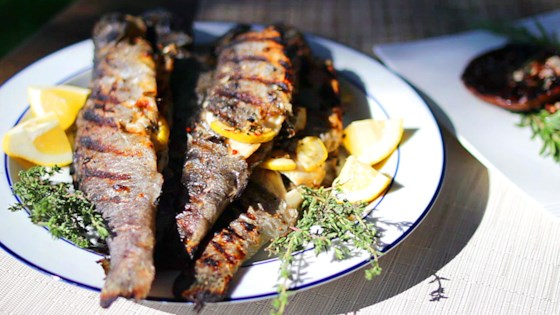 Photo of Grilled Whole Stuffed Trout by brandon