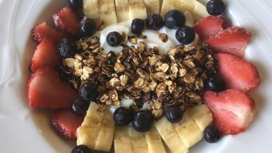 Photo of Breakfast Banana Sundae by Bush Cook