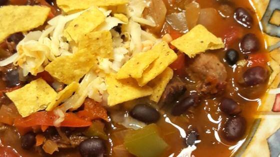 Photo of Steak Fajita Soup by mommamegan