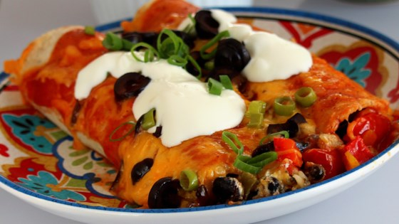 Photo of Jeannie's Vegetarian Enchiladas  by Jeannie Jyurovat