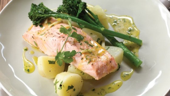 Photo of Citrus Salmon with New Potatoes by NPet